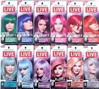 Schwarzkoft Live Colour ULTRA BRIGHTS Temporary Hair Dye Blue Purple Pink Red 8W