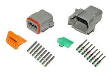 Deutsch DT 8 Pin Connector Kit 14 GA Solid Contacts