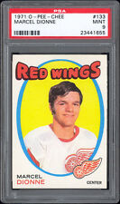 1971-72 O-Pee-Chee #133 Marcel Dionne Rookie Card PSA 9 MINT Well centered