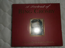 """A PORTRAIT OF BING CROSBY"" 2 CD's CONTAINING 48 TRACKS. TOP CONDITION."
