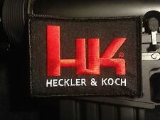 H&K HECKLER & KOCH LOGO PATCH HK416 TACTICAL RIFLE MP7 AR GUN 2ND AMMENDMENT