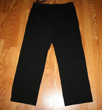 NWT Womens GLORIA VANDERBILT Jolie Stretch Black Leggings Pants Sz 6 Short