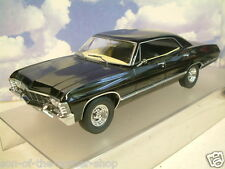 1/18 GREENLIGHT 1967 CHEVROLET CHEVY IMPALA SPORT SUPERNATURAL OHIO PLATES 19014