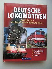 Deutsche Lokomotiven große Buch Dampfloks Dieselloks Elloks Entwicklung Technik