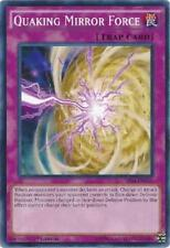 QUAKING MIRROR FORCE - (SR04-EN036) - Common - 1st Edition - Yu-Gi-Oh
