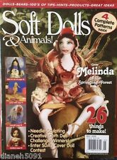Soft Dolls & Animals Pattern Magazine With 26 Things To Make May 2006