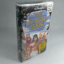 Disney's The Jungle Book (NEW VHS, 1995) Clamshell Live-Action
