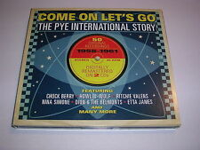 Come On Let's Go (The Pye International Story, 2013) CD X 2  Rock And Roll