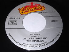 Little Anthony And The Imperials: So Much / Please Say You Want me 45