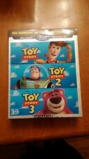 Toy Story Trilogy (3D Blu-ray boxset) Rare Lenticular cover - Next day free S&H