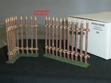 King and country IC054 imperial collection chinois fort en bois clôtures set