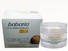 Baba Caracol SNAIL CREAM 24h Nourishing Cleansing Curative Effect ACNE Babaria