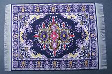 1:12 Scale 25cm x 17.5cm Woven Turkish Rug Doll House Miniature Carpet P38L
