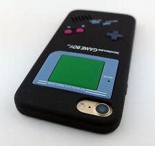 BLACK FUN GAME BOY GAMEBOY SILICONE RUBBER SKIN CASE COVER APPLE IPHONE 7