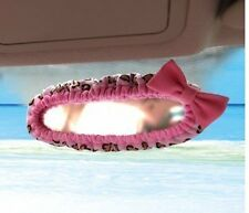 NEW Hello Kitty Leopard Print Car Rear View Mirror Cover