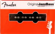 Genuine Fender Jazz Bass USA Original Neck Pickup - # 0992123002 - Black Guitar