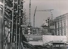 PARIS c. 1937 -  Travaux Construction Exposition Grues  - DIV 7369