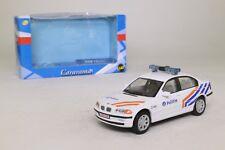 Cararama Escala 1:43; BMW serie 3; nergens, Países Bajos policía; Excelente En Caja