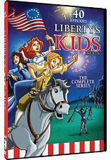 Liberty's Kids Complete Series DVD Set Collection Animated TV Show History Child