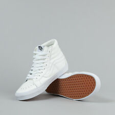 Vans Sk8-Hi Reissue Leather - True White - UK 6.5