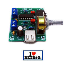 Arcade Game Audio sonido Stereo Board Amplifier for Arcade Cabinets USB