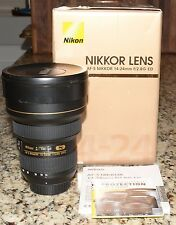 Nikon NIKKOR 14-24mm f 2.8 ED AF S  G  Lens EXCELLENT CONDITION !! FREE SHIPPING