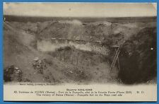 CPA: Environs de Reims - Fort de la Pompelle, côté de la Grande.../ Guerre 14-18