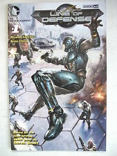 LINE OF DEFENSE 3000AD # 0 (DC COMICS - 2012), NM