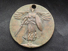 VINTAGE  WWI  THE GREAT WAR FOR CIVILISATION US MEDAL