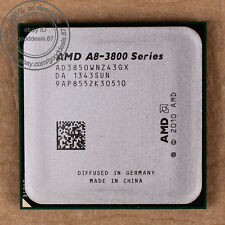 AMD A8-Series A8-3850 - 2.9 GHz AD3850WNZ43GX Socket FM1 Quad-Core CPU