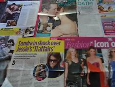 SANDRA BULLOCK  CELEBRITY  CLIPPINGS PACK OVER 100  GOOD CONDITION