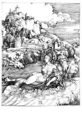 The Sea Monster by Albrecht Dürer Print