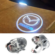 LED Door Light Projector For MAZDA RX-8 CX9 6 Welcome Courtesy Logo OSRAM HD Kit