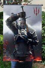 Anime Game THE WITCHER 3 WILD HUNT Home Decor Poster Wall Scroll40x60cm