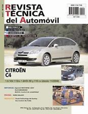 Manual de Mecanica y Taller CITROEN C4 1.6 16V 1.6 HDI 90 Y 110 CV nº158