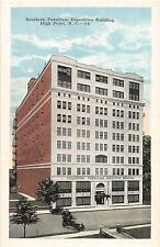 B13/ High Point North Carolina NC Postcard c'20 Southern Furniture Expo Building