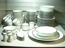 NORITAKE PILGRIM Fine China Dinnerware Set 104 Pieces # 6981 Serving for 12