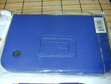 TABLET CASE: Blue Leather PU SupCase Samsung Galaxy Tab 2/7 Plus NEW