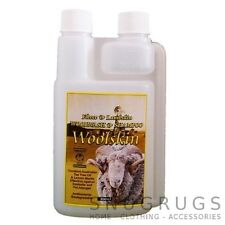 SHEEPSKIN CLEANER SHAMPOO WOOL WASH CONDITIONER with Tea Tree Oil WOOLSKIN WASH