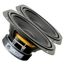 "Pair GRS 5PF-8 5-1/4"" Paper Cone Foam Surround Woofer 8ohm 130 W 84dB"