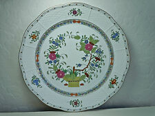 Herend Indian Basket Multicolor Dinner Plate