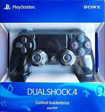 DUALSHOCK 4 Black/Negro Azabache SONY Oficial Controller PS4 New model CUH-