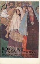 A3369) ROMA 1911, ESPOSIZIONE ETNOGRAFICA. EDIZIONE CHAPPUIS BOLOGNA.