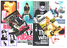 10 POSTCARDS. MOD, 60's,  READY STEADY GO,  SCOOTER, The AVENGERS, TWIGGY.