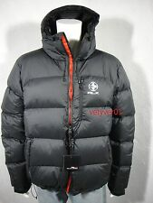 NWT $345 RALPH LAUREN RLX Channel-Quilted Hooded Down Jacket Black size 1XB