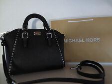 Michael Kors Tasche CIARA MD MESSENGER Black Taschen Handtasche Schultertasche
