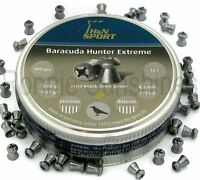 H&N Baracuda Hunter Extreme .177 Air Rifle Pellets Ammo Hollow Point Long Range