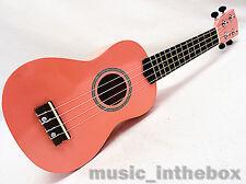 Special Pink 21' Soprano Ukulele & Ukulele Bag    Limited