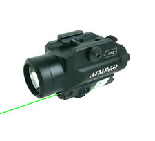Green Laser/Flashlight for Pistol/Rifle 220 Lumen LED Weapon light AIMPRO