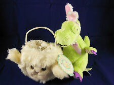 Bunnies by the Bay 2003 Hallmark Purse Easter lamb and Galerie plush dinosaur 6""